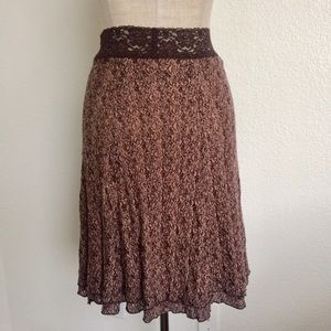 Cabi lace A line Skirt